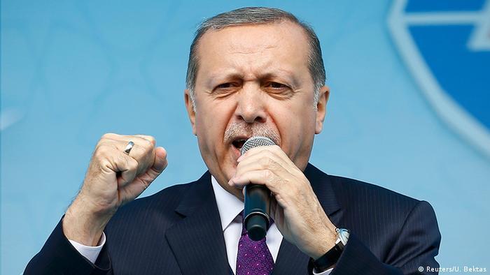 Türkei Konya Erdogan Referendum Rede