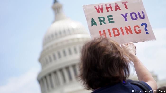 Washington Anti Trump Protest