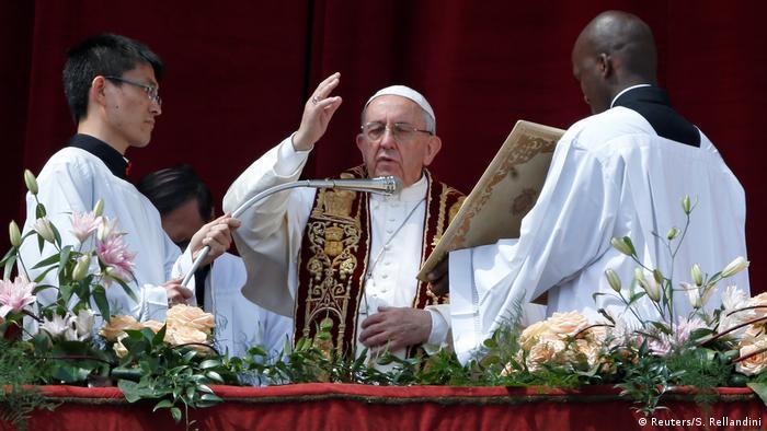 Vatikan Papst Franziskus Urbi et Orbi