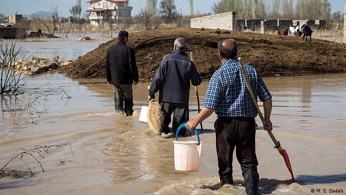 Iran Überschwemmung (M. E. Zadeh)