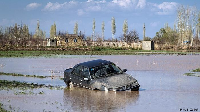 The first wave of the flooding struck two days before Norouz, the Persian New Year.