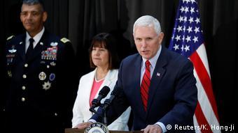 Südkorea Besuch US Vizepräsident Mike Pence