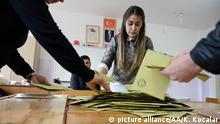 Türkei Referendum Auszählung in Gaziantep