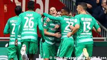 Deutschland Werder Bremen v Hamburger SV   Jubel