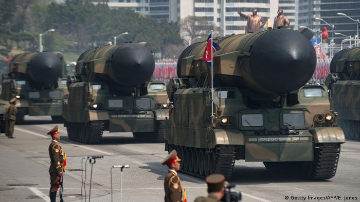 Military parade in North Korea (Gettty Images/AFP/E. Jones)