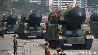 Nordkorea provoziert mit weiterem Raketentest (Gettty Images/AFP/E. Jones)