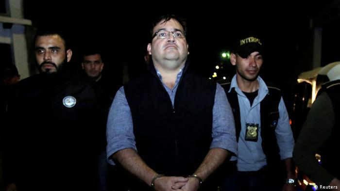 Guatemala Festnahme Javier Duarte ehemaliger mexikanischer Gouverneur (Reuters)