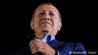 O πρόεδρος Ερντογάν χρησιμοποίησε το επιχείρημα της επαναφοράς της θανατικής ποινής στην προεκλογική του εκστρατεία