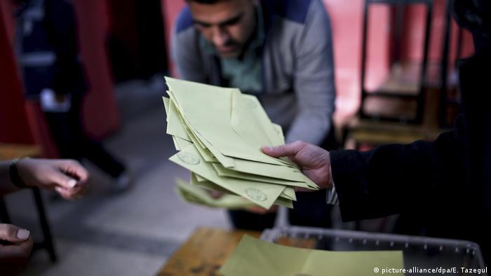 Türkei Referendum Auszählung
