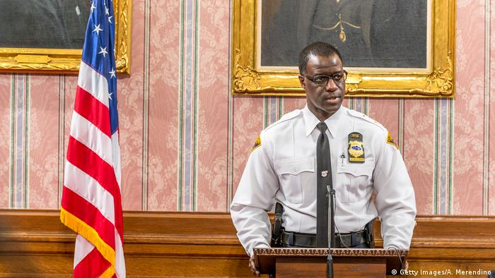 USA | Clevelands Polizechef Calvin Williams (Foto: Getty Images/A. Merendino)