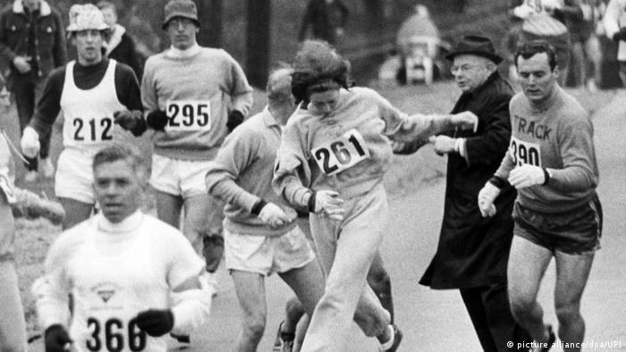 USA Kathrine Switzer | Boston Marathon 1967 (picture alliance/dpa/UPI)