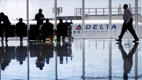 USA Fluglinie Delta (picture alliance/AP Photo/D. Goldman)