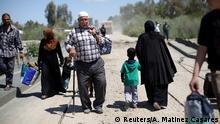 Irak UNO: Fast eine halbe Million Zivilisten vor Militäroffensive auf Mossul geflohen