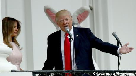 USA | Easter Egg Roll im Weißen Haus (Getty Images/W. McNamee)