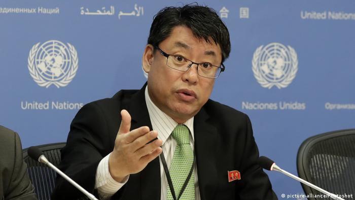 USA | Nordkoreas Botschafter bei den Vereinten Nationen Kim In Ryong