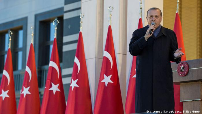 Recep Tayyip Erdogan in Ankara