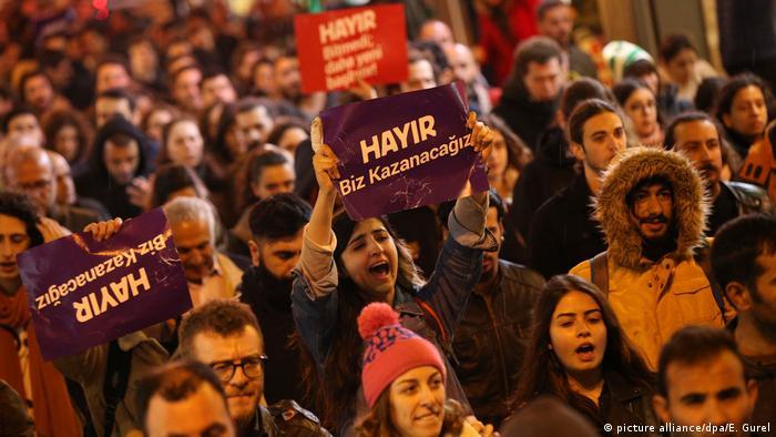Türkei Referendum - Proteste