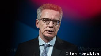 Thomas de Maizière Bundesinnenminister (Getty Images/S. Loos)
