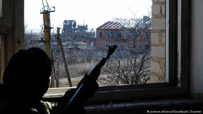 Ostukraine Donezk Region Kominternovo Konflikt Separatisten