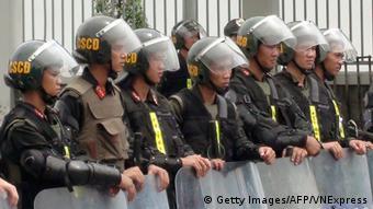 Vietnam Binh Duong Bereitschaftspolizei