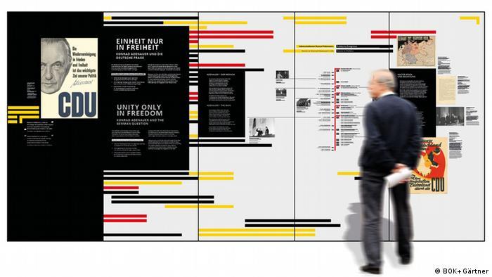 Konrad Adenauer exhibition at DHM Berlin (BOK+Gärtner)