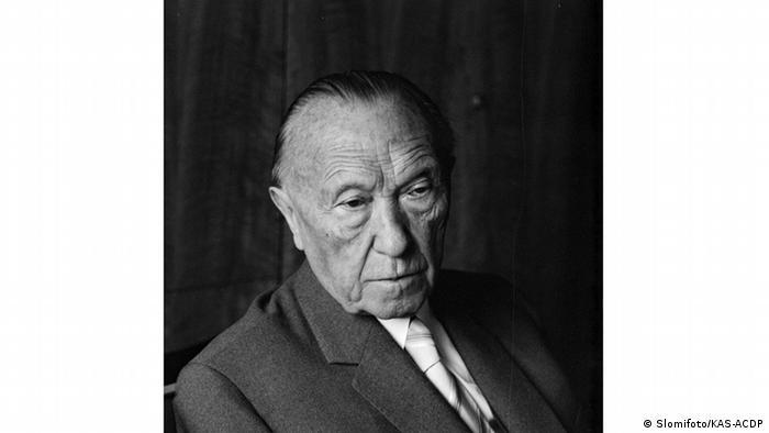 Konrad Adenauer portrait (Slomifoto/KAS-ACDP)