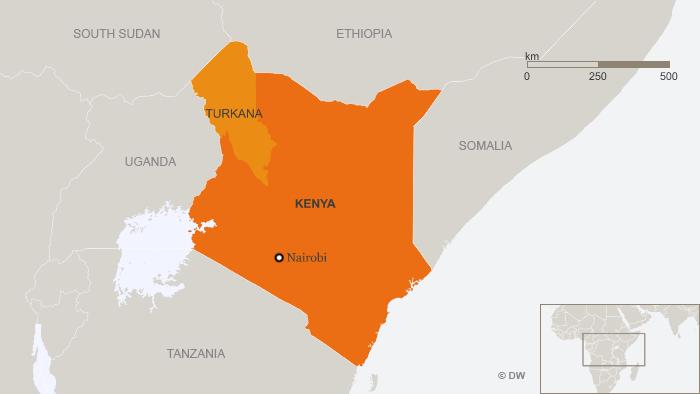 Drought drives kenyan pastoralists into uganda africa dw 1804 turkana is kenyas largest but pooorest region gumiabroncs Choice Image