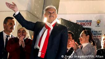 O τούρκος πρωθυπουργός Μπιναλί Γιλντιρίμ