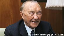 Deutschland Altbundeskanzler Konrad Adenauer
