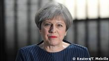 Großbritannien Premierministerin Theresa May in London
