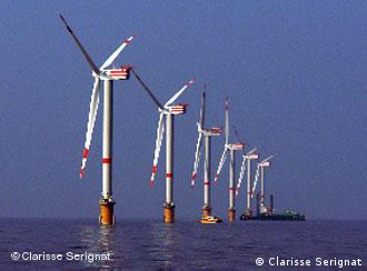 Germany has been lagging in its efforts to promote offshore wind energy