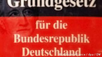 A book of the German constitution or Grundgesetz