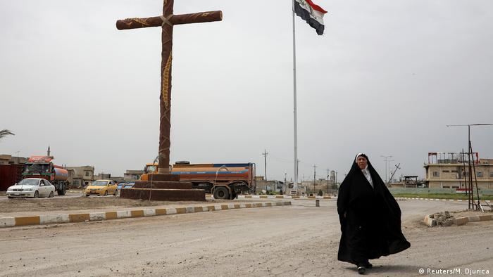 Irak Christen kehren nach Qaraqosh zurück (Reuters/M. Djurica)