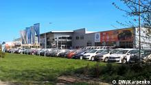 Russland Autos-Verkauf in Krym