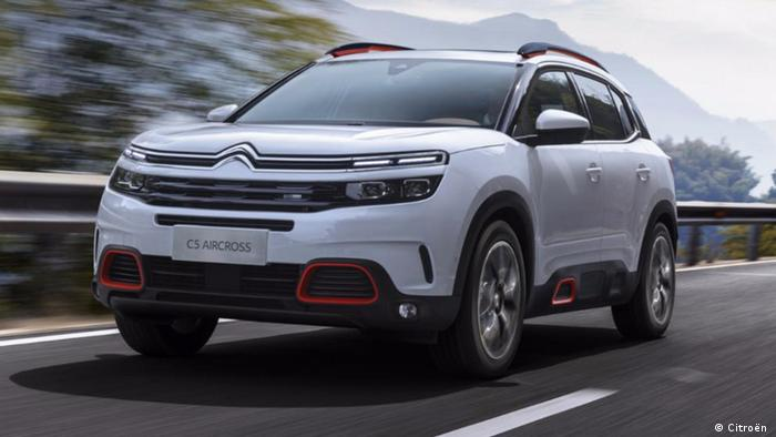 China Auto Shanghai 2017 | Citroen C5-Aircross (Citroën )
