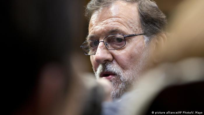 Spanish Prime Minister Mariano Rajoy (picture alliance/AP Photo/V. Mayo)