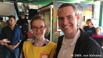 Mexiko USA Grenzgebiet Nogales Kino Border Initiative | Jana Echterhoff und Vater Sean Carroll