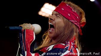 Guns N' Roses frontman Axl Rose (picture-allaiance/dpa/empics/R. Paul)