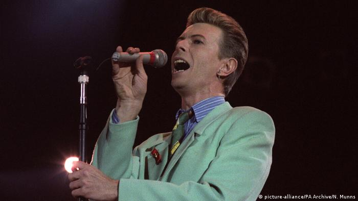 David Bowie at the Freddie Mercury Tribute Concert (picture-alliance/PA Archive/N. Munns)