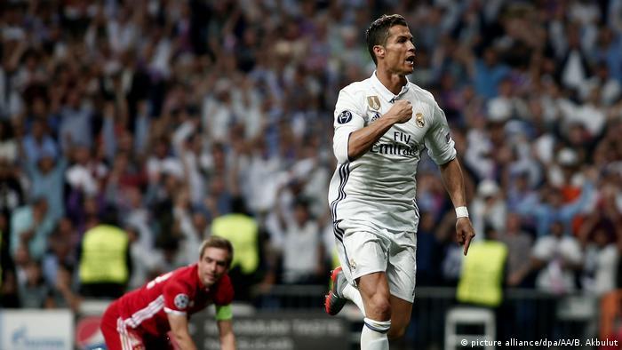 Cristiano Ronaldo celebrating (picture alliance/dpa/AA/B. Akbulut)