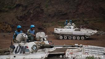 Kongo UN Friedensmission in Munigi