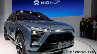 China Automesse Shanghai 2017 NioES8 SUV