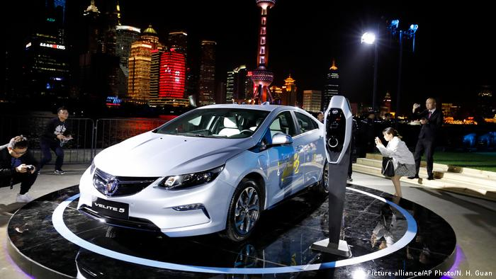 China Automesse Shanghai 2017 Buick Velite 5 (Picture-alliance/AP Photo/N. H. Guan)