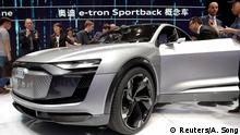 China Automesse Shanghai 2017 Audi e-tron (Reuters/A. Song)