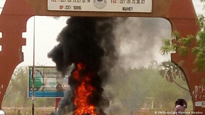 Niger Niamey Studentenproteste