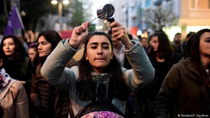 Türkei Protest gegen Referendum in Istanbul