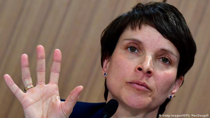 Deutschland Frauke Petry, AfD