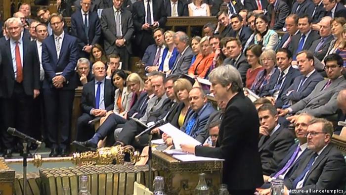 Ein großer Stolperstein auf dem weiteren Weg zum Brexit: das Unterhaus in London (Foto: picture-alliance/empics)