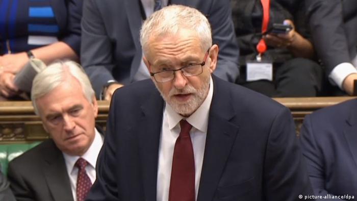 Großbritannien Unterhaus Debatte | Jeremy Corbyn
