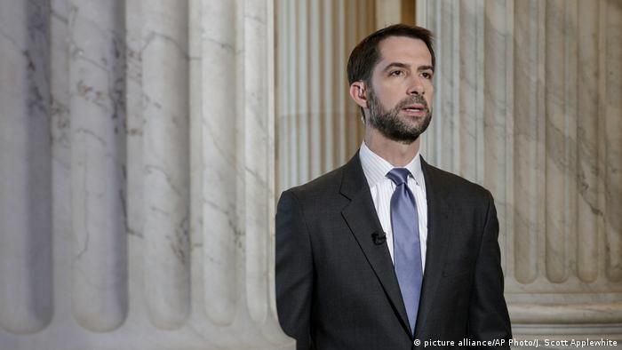 USA jüngste Abgeordnete | Tom Cotton (picture alliance/AP Photo/J. Scott Applewhite)